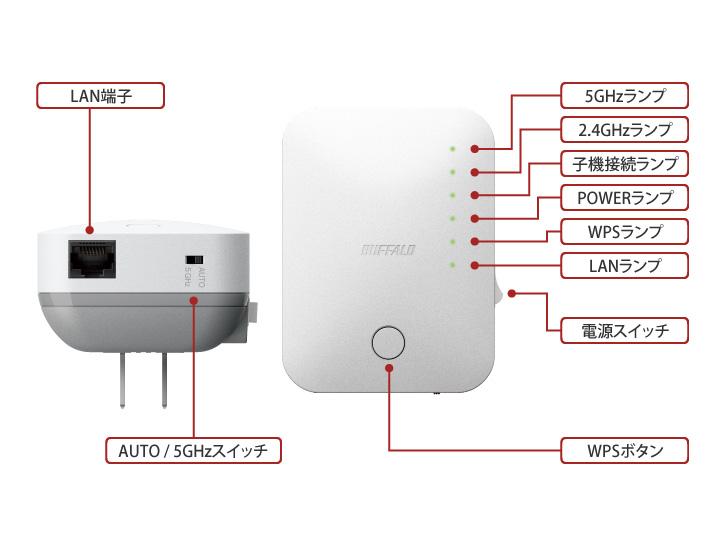 バッファロー ルーター 中継 器 Wi-Fiルーターと中継器を使って1階から2階、3階まで繋げる方法